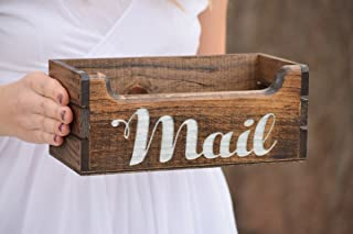 personalized mail holder