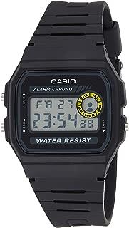 Casio Mens Quartz Watch, Digital Display and Resin Strap F-94WA-8DG