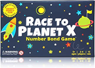 Race to Planet X: Number Bond Game - Math Games for Kindergarten, First Grade - Learn Addition Subtraction with a Super Fun Board Game