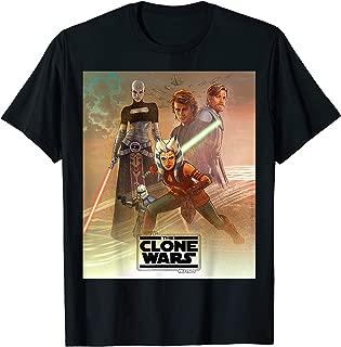 Celebration Mural The Clone Wars Logo T-Shirt