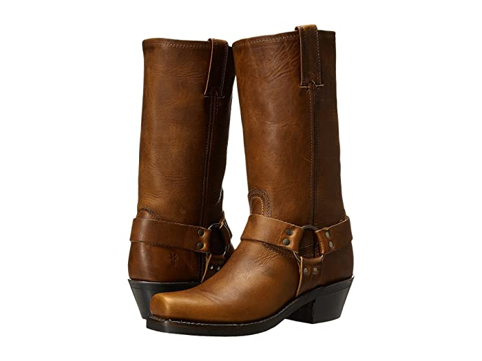 Frye  Harness 12R (Cognac Washed Oiled Vintage) Womens Pull-on Boots