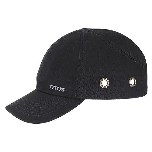 TITUS Lightweight Safety Bump Cap - Baseball Style Protective Hat (Regular 47cf635ca594