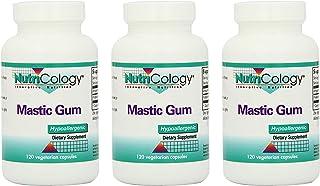 Nutricology Mastic Gum, 120 Vegetarian Capsules - 3 Pack