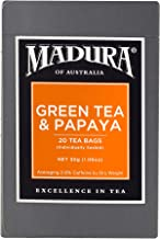 Madura Green and Papaya 20 Enveloped Tea Bags, 30 g