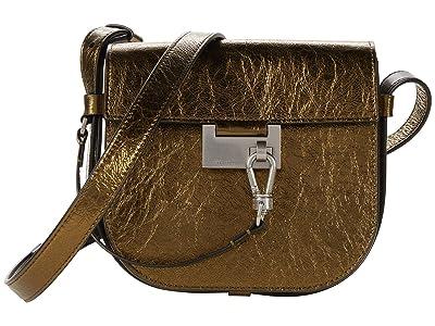 AllSaints Ida Crossbody (Gold) Handbags