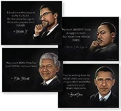 """Malcolm X Civil Rights Leader Poster 30x50/"""" 24x40/"""" 18x30/"""" Art Print Silk"""
