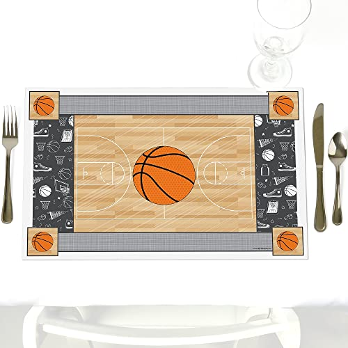 Nothin 'But Net Basketball Platzdeckchen Set von 12