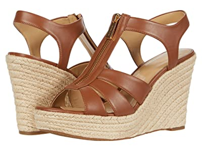 MICHAEL Michael Kors Berkley Wedge (Luggage) Women