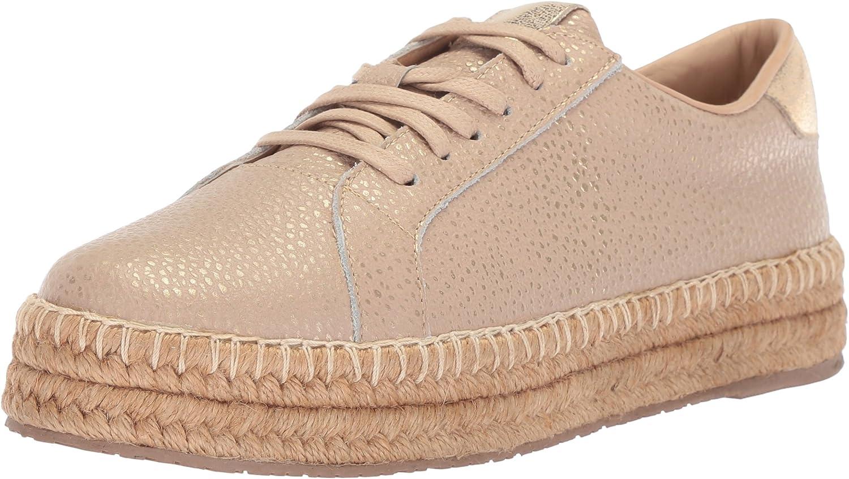 KAANAS Women's Arizona Leather Espadrille Sneaker
