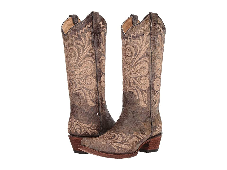 Corral Boots L5407 (Distressed Green) Women