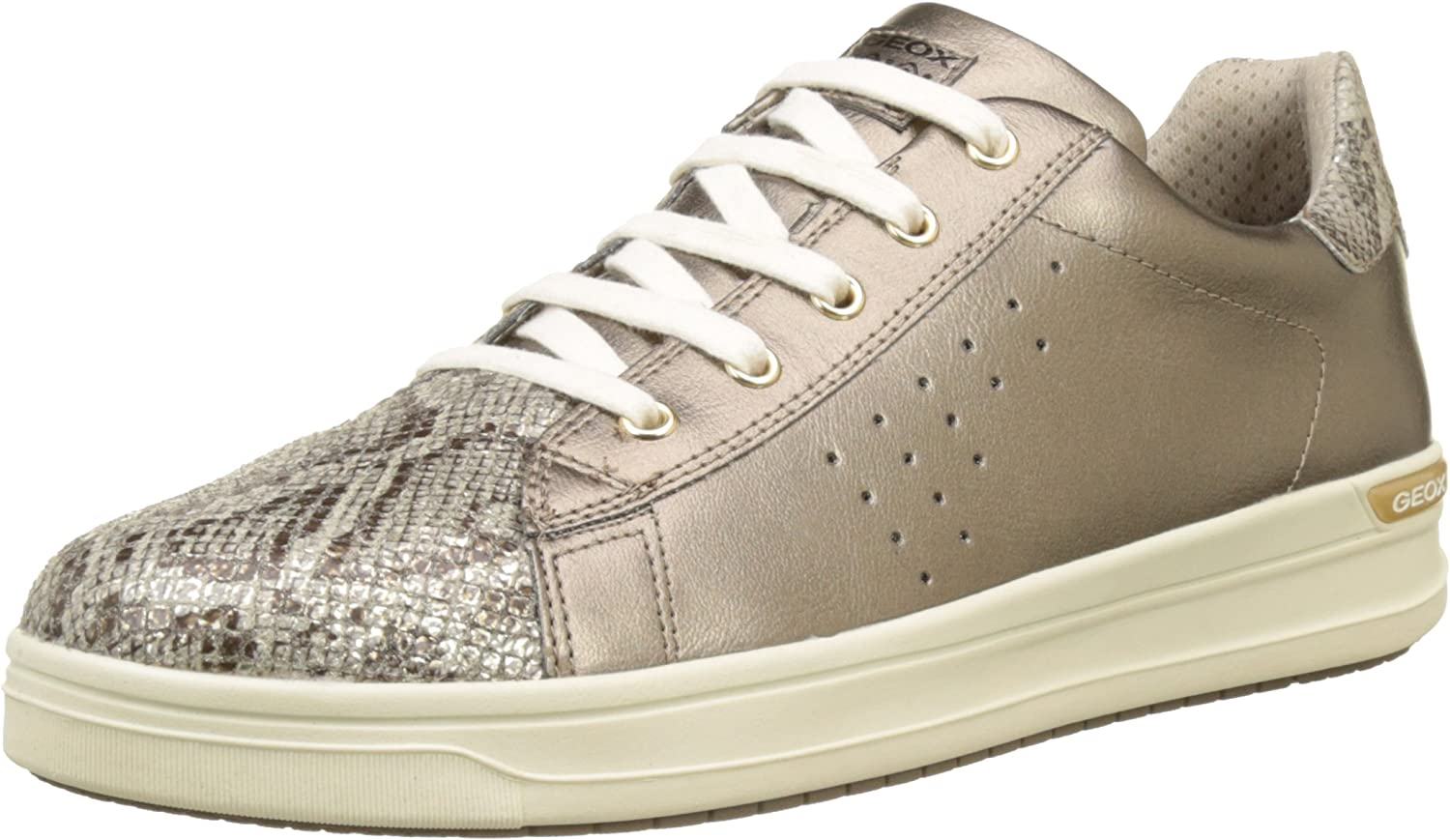 Geox Unisex Adults' J Aveup Girl a Trainers