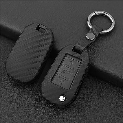 Keychain Gift Logo Ring Key Fob Car Holder Plastic Peugeot Rigid