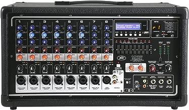 Peavey PVi 8500 Pro Audio DJ Powered 8 Channel Mixer 400W PA Speaker Amp (Renewed)