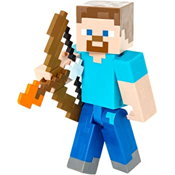 Minecraft Steve With Elytra Figure Mattel FLV92