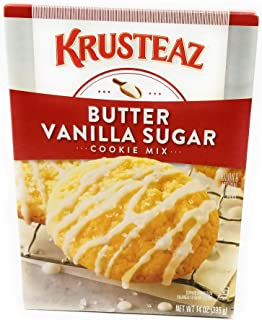 Krusteaz Bakery Style Cookie Mix, Butter Vanilla Sugar, 14 Ounce (Pack of 4)