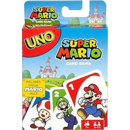 Mattel Games-UNO Gioco di Carte Versione Super Mario Bros Giocattolo per Bambini 7+ Anni, DRD00