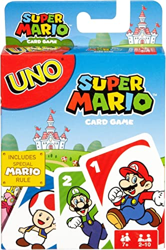 UNO Super Mario, You, Super Mario Bros, and a Game of UNO!