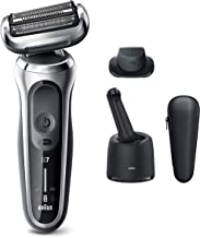 Braun Electric Razor for Men, Series 7 7071cc 360 Flex Head Electric Shaver with Precision Trimmer, Rechargeable, Wet & Dr...