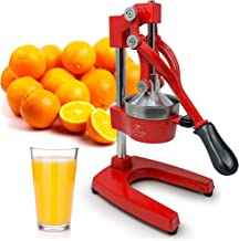Zulay Professional Citrus Juicer – Manual Citrus Press and Orange Squeezer –..