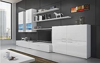 SelectionHome - Mueble Comedor Moderno, salón con Luces