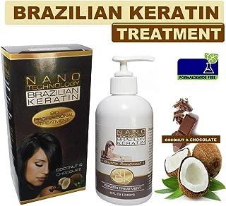 Nano Technology Brazilian Keratin Formaldehyde Free 8oz Coco and Chocolate