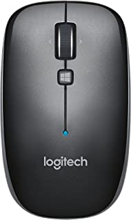 Logitech M557 Bluetooth Mouse – Wireless Mouse with 1 Year Battery Life, Side-to-Side Scrolling, and Right or Left Hand Us...