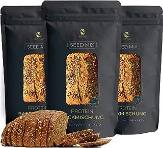 comprar comparacion Seed Mix - Mezcla para hornear pan de proteínas 3x200g. | 4g. carbohidratos | Sin cereales | Sin gluten | Para Paleo, Keto...