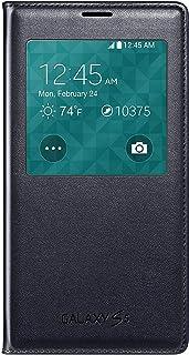 Samsung Galaxy S5 Case S View Flip Cover Folio Negro