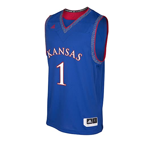 5bc7fa0c0f7 adidas NCAA Mens Iced Out Replica Basketball Jersey