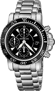 Best mont blanc watches sport chronograph automatic Reviews