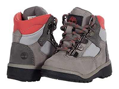 Timberland Kids 6 Leather/Fabric Field Boot (Toddler/Little Kid) Boys Shoes