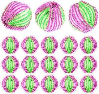 comprar comparacion WENTS Bolas Bolas de Lavado 18 Piezas Bola de Lavado Depiladora de Mascotas Bola Reutilizable de Limpieza de Lavadora Mági...