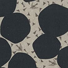 Echino Bubble Birds - Kokka Japan Cotton/Linen Canvas Fabric