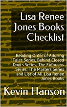 Lisa Renee Jones Books Checklist: Reading Order of Alluring Tales Series, Behind Closed Doors Series, The Enforcers Series, The Masters Series and List of All Lisa Renee Jones Books