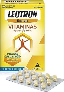 LEOTRON Vitaminas - 30 Comprimidos - Complemento alimenticio con Jalea real. coenzima Q10. 12 vitaminas y 11 minerales