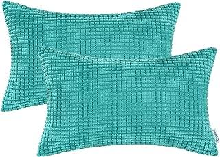 aqua bolster pillow