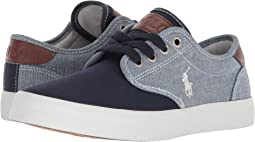 Blue Chambray/Navy Canvas/White Pony Player