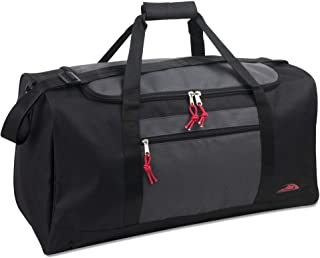 55 Liter, 24 Inch Lightweight Canvas Duffle Bags for Men & Women For Traveling, the Gym, and as Sports Equipment Bag/Organ...