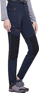 DENGBOSN Pantalon Montaña Mujer Secado Rápido Impermeable