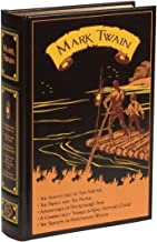 Mark Twain: Five Novels (Leather-bound Classics)