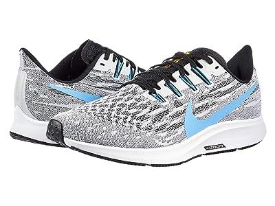 Nike Air Zoom Pegasus 36 (White/University Blue/Black) Men