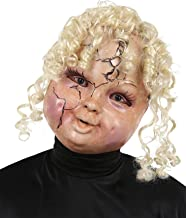 Mario Chiodo Women's Horror Creepy Carrie Doll Face Mask Halloween Costume Accessory