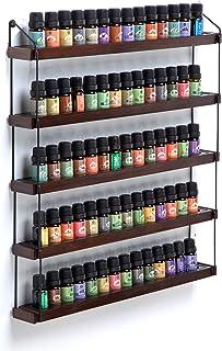 JackCubeDesign MK482A - Estantería de madera para aceites esenciales (5 niveles)