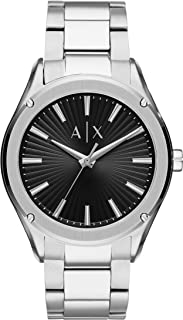 Armani Exchange Men's Analog Quartz Watch with Stainless Steel Strap