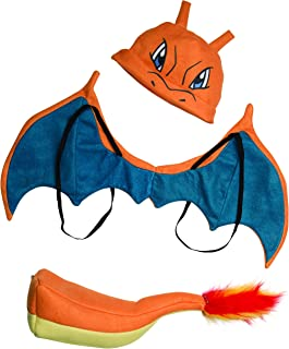 Pokemon Charizard Child Costume Kit
