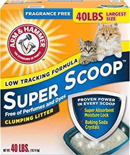 Arm & Hammer Super Scoop Unscented Baking Soda Clumping Litter