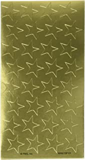 Eureka Back to School Stars Decorative Gold Stickers, 1/2''