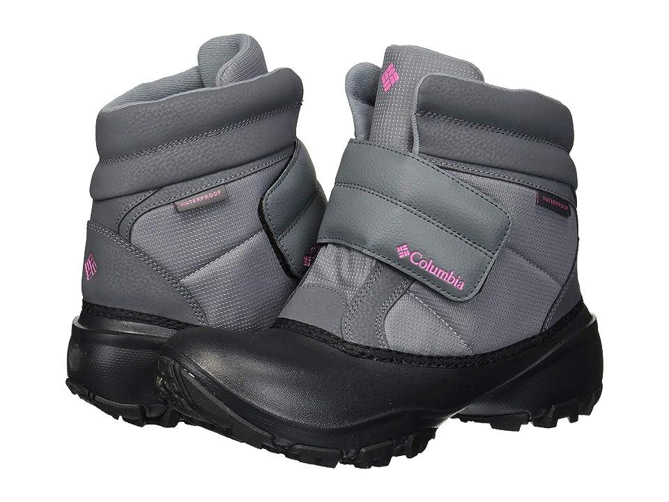 Columbia Kids Rope Towtm Krusher (Toddler/Little Kid/Big Kid) (Grey Ash/Camellia Rose) Girls Shoes