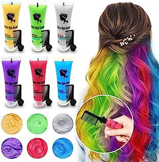 رنگ مو موقت 6PCS برای تیره شدن