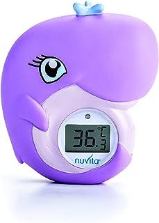 Morran Badethermometer Wasserthermometer und Badespielzeug Fisch Tier Baby Badewanne Thermometer,leicht zu tragen Multicolor